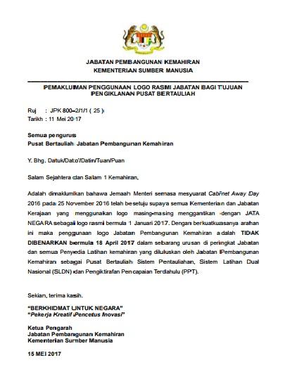 Malaysia tvet malaysia no 1 jpk pp ppdpp pptppl induction pemakluman penggunaan logo rasmi jabatan bagi tujuan pengiklanan pusat bertauliah malvernweather Gallery