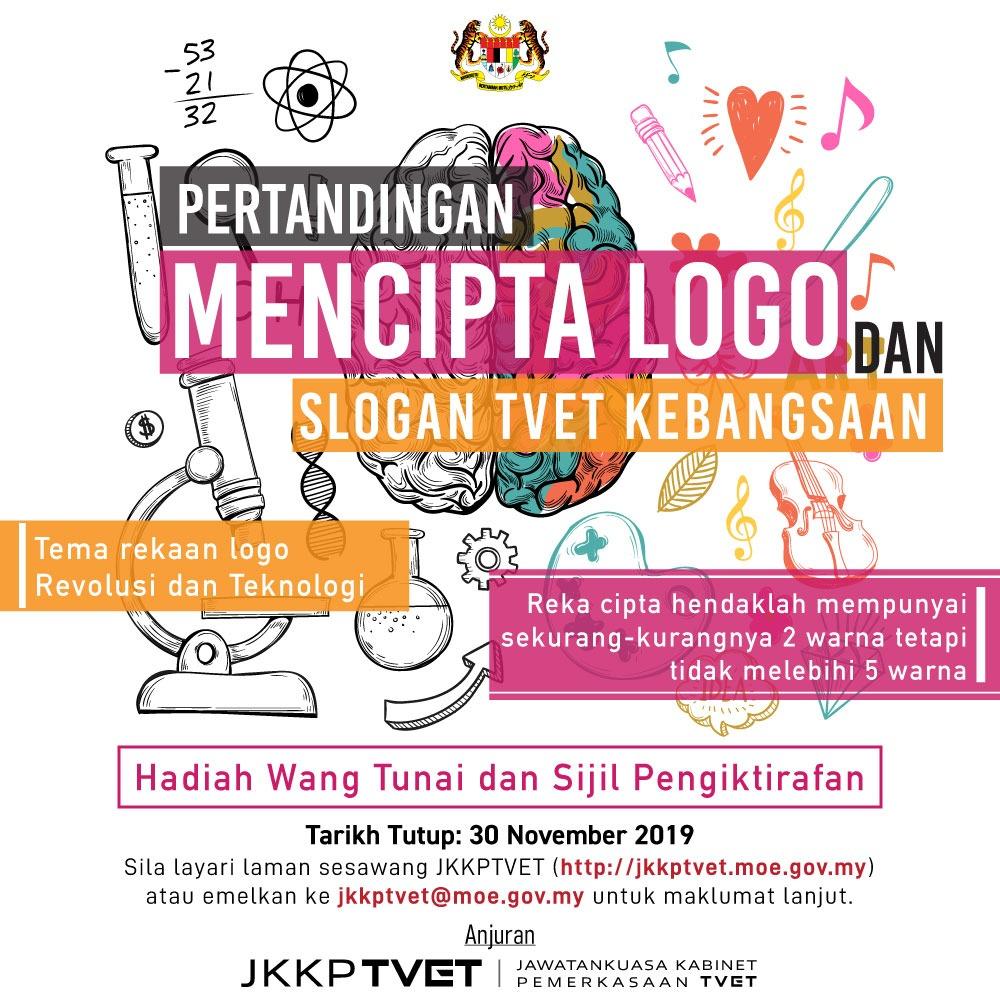 Pertandingan Mencipta Logo Dan Slogan Tvet Kebangsaan Tvet Jpk Sijil Kemahiran Malaysia Vto Noss Urise