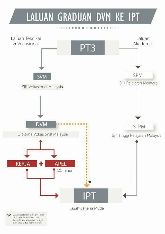 laluan graduan DVM ke IPT
