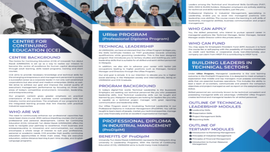 Executive Bachelor in Industrial Management (EBIM)