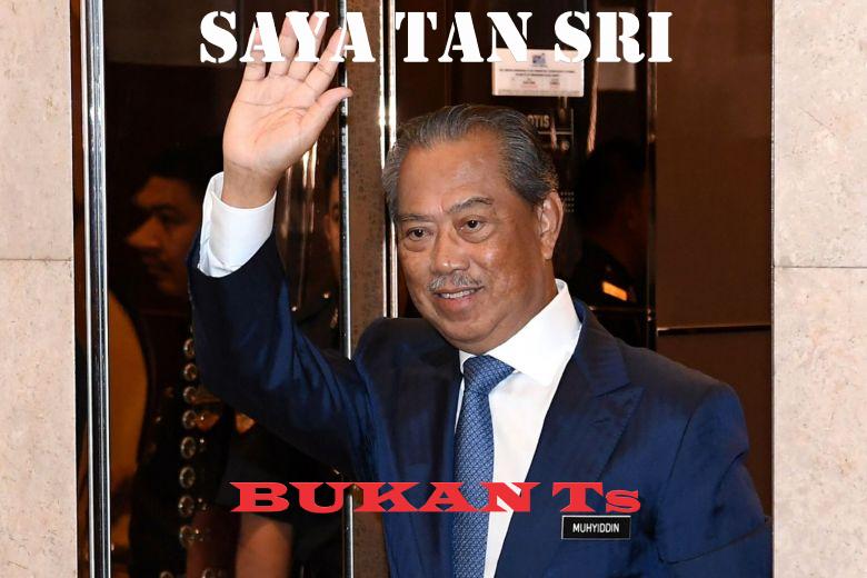 Tan Sri bukan Ts.