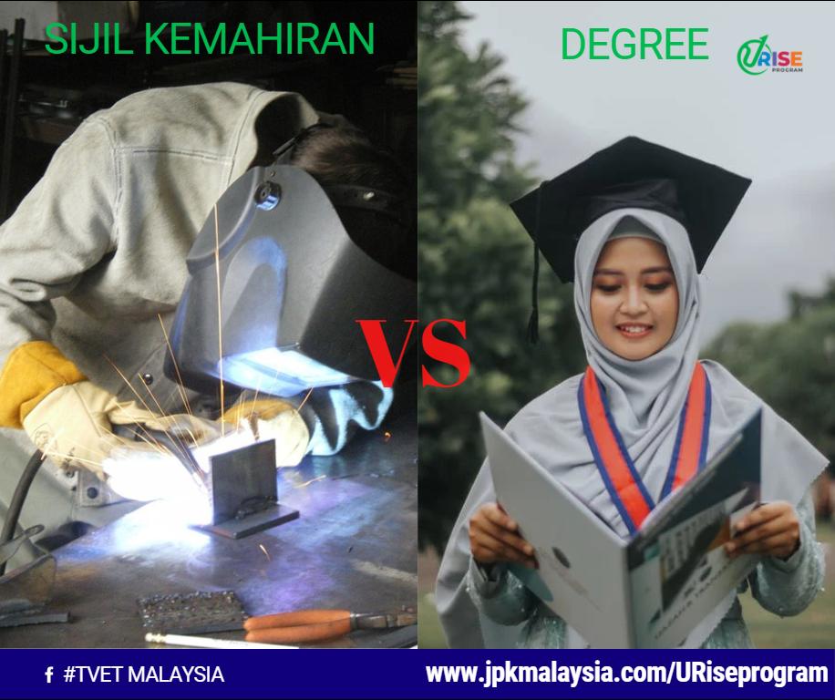 Sijil Kemahiran VS Degree