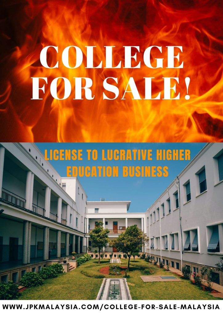 College for sale in Malaysia - by ISE Education